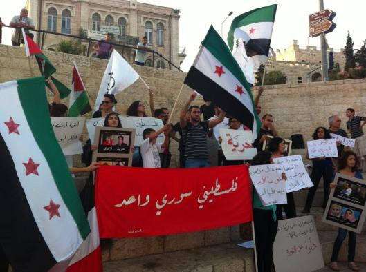 Al Quds Demo in the Global Day of Solidarity with the Syrian Revolution 31.5.2013
