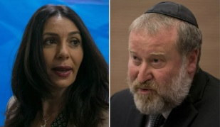 Regev and Mandelblit